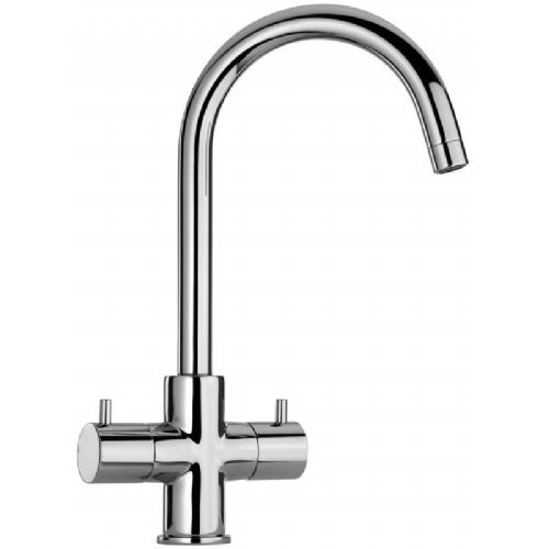Paini Cox Twin Lever Monobloc Kitchen Mixer Tap